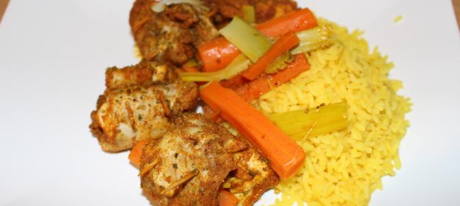 Soczyste roladki z kurczaka gotowane na parze