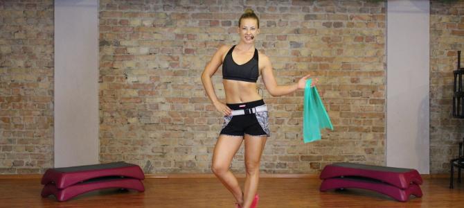 Smukłe Ciało- trening z taśmą