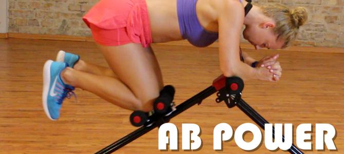 AB POWER – test i zestaw ćwiczeń