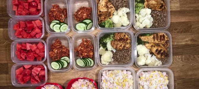 Jedz i chudnij! Szybkie przygotowanie posiłków na kilka dni/ Lunch Box